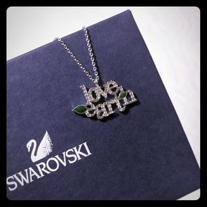 Swarovski Love Earth necklace